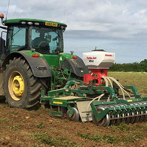 Oil Seed Rape & radish broadcasting